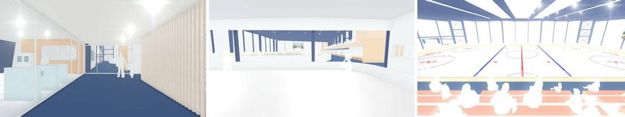関空アイスアリーナ内観予想の画像